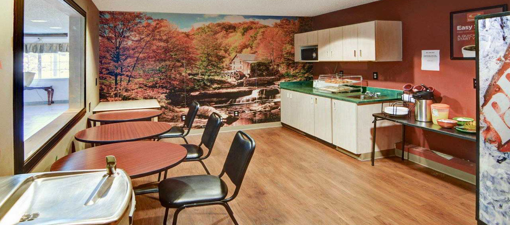 Hotel Econo lodge Lewisville Breakfast Area